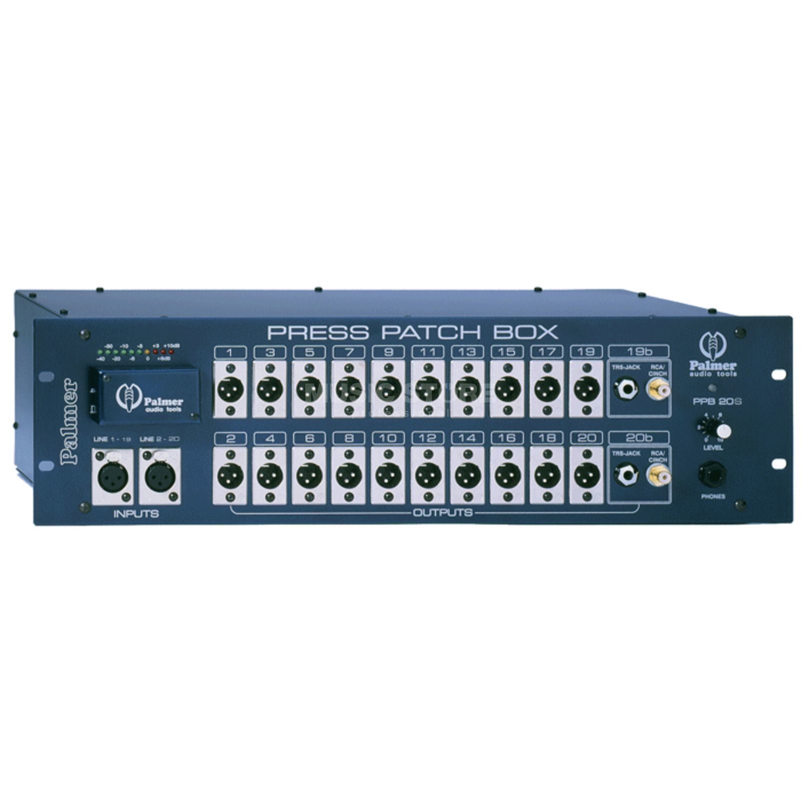 Palmer PB 20S Press Patch Box Stereo  Produktbillede