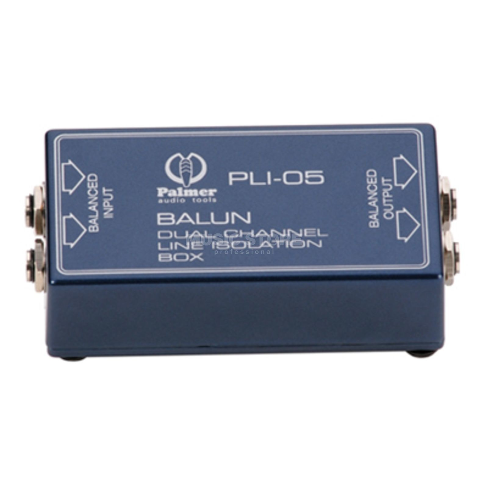 Palmer PLI 05 Balun Dual Channel Line Isolation Box Produktbild