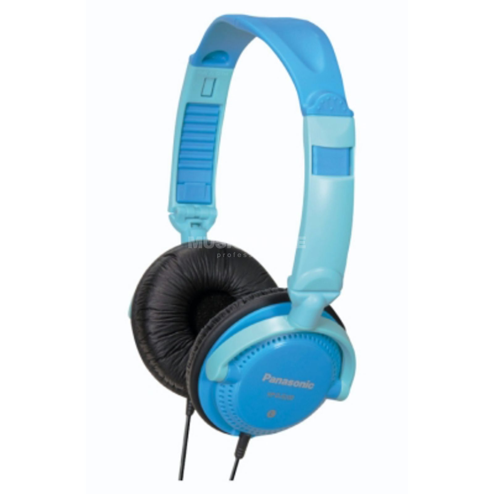 Panasonic RP-DJS200E-A Blue Street DJ-Headphones Product Image