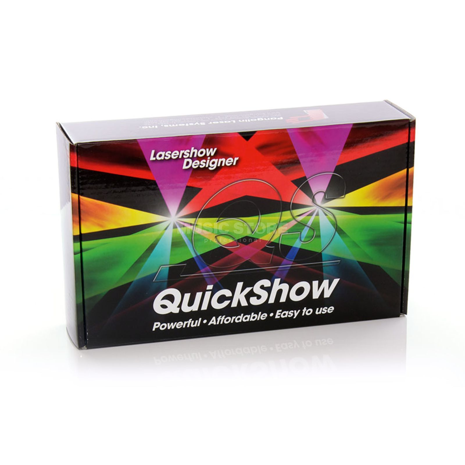 Pangolin QuickShow 3.0 FB3/QS Lasersoftware & USB Interface Produktbild