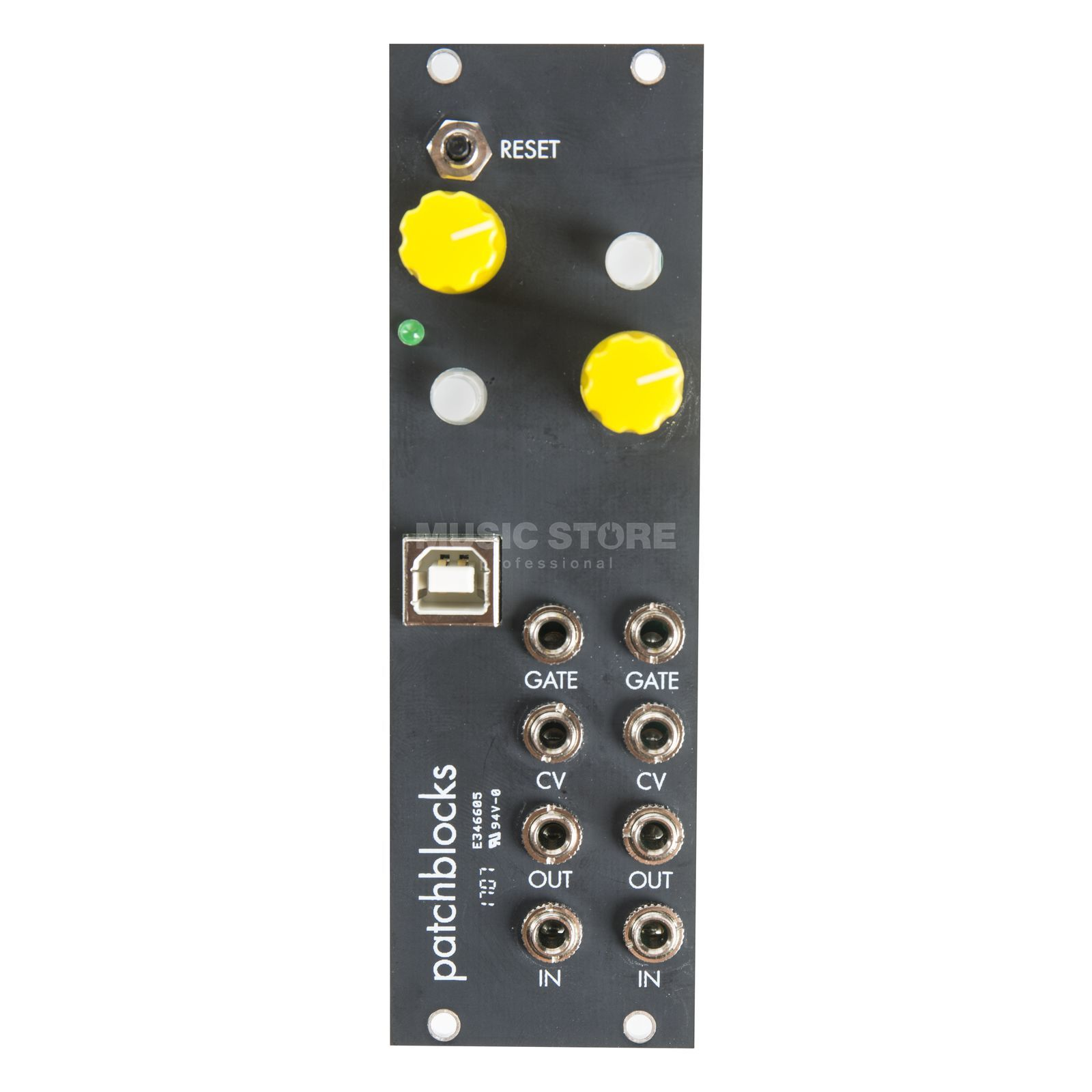 Patchblocks Patchblock Eurorack Black Produktbild