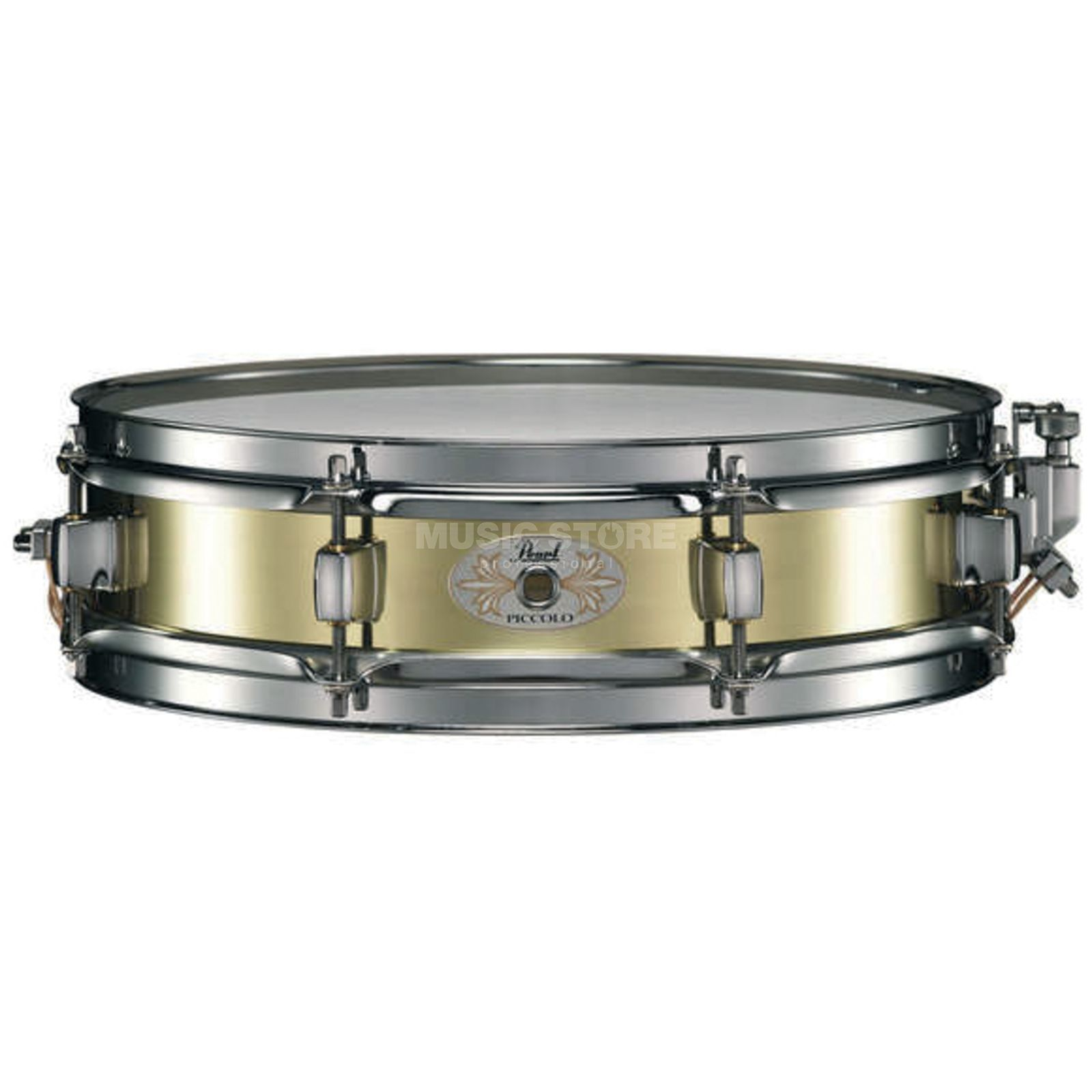 "Pearl B1330 Piccolo Snare, 13""x3"", Brass Product Image"