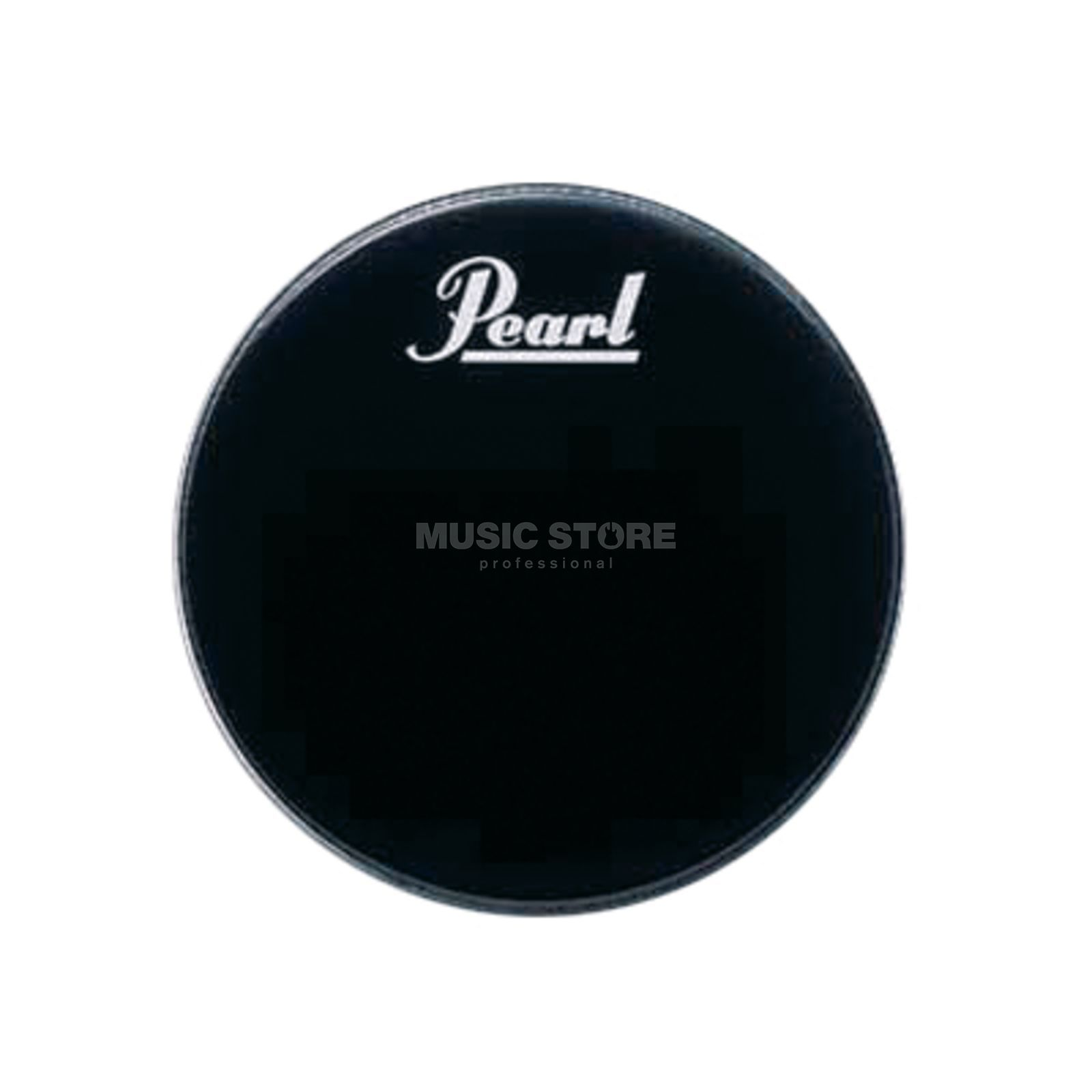 "Pearl Bass Drum Front Head 20"", black, w/logo Изображение товара"