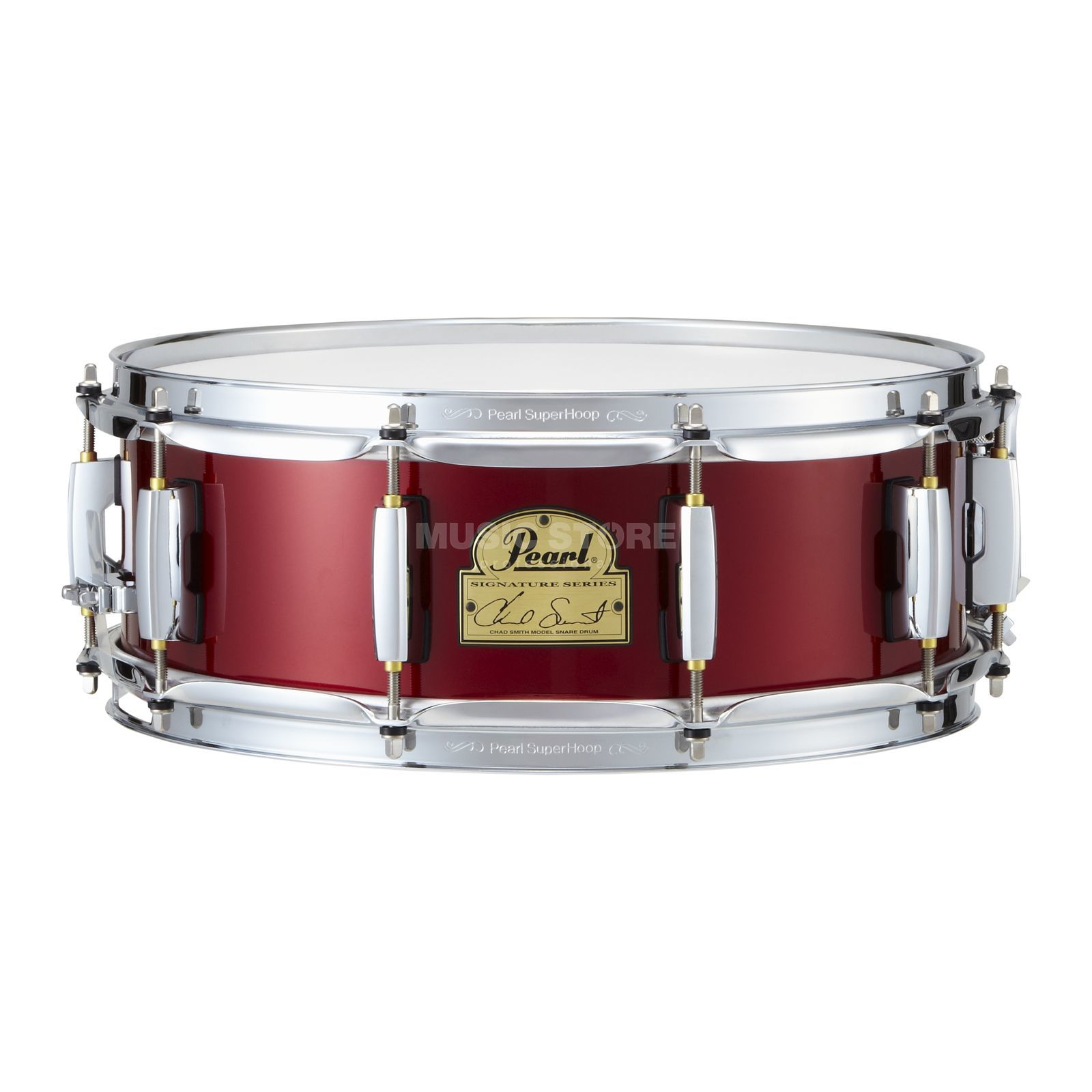 "Pearl Chad Smith Snare CS1450R, 14""x5"", Candy Apple Red Produktbillede"