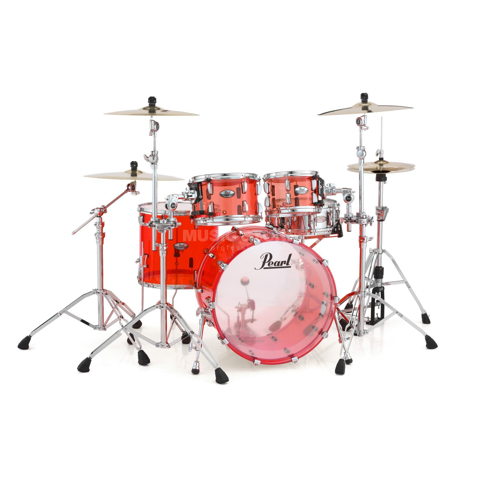 Pearl Crystal Beat CRB504P/C, Ruby Red #731 Produktbillede