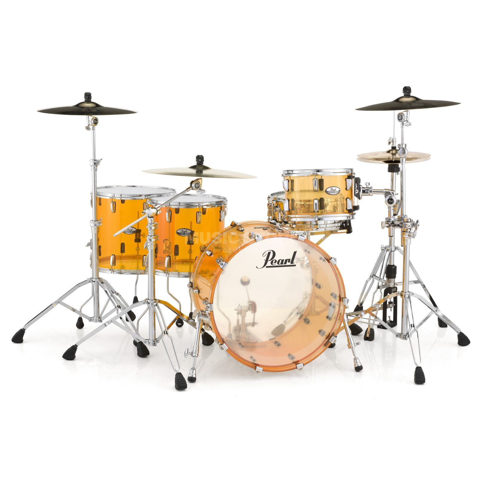 Pearl Crystal Beat CRB524FP/C, Tangerine Glass #732 Produktbild
