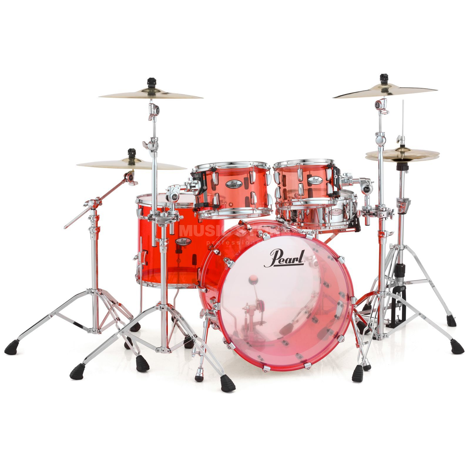 Pearl Crystal Beat CRB524P/C, Ruby Red #731 Produktbillede