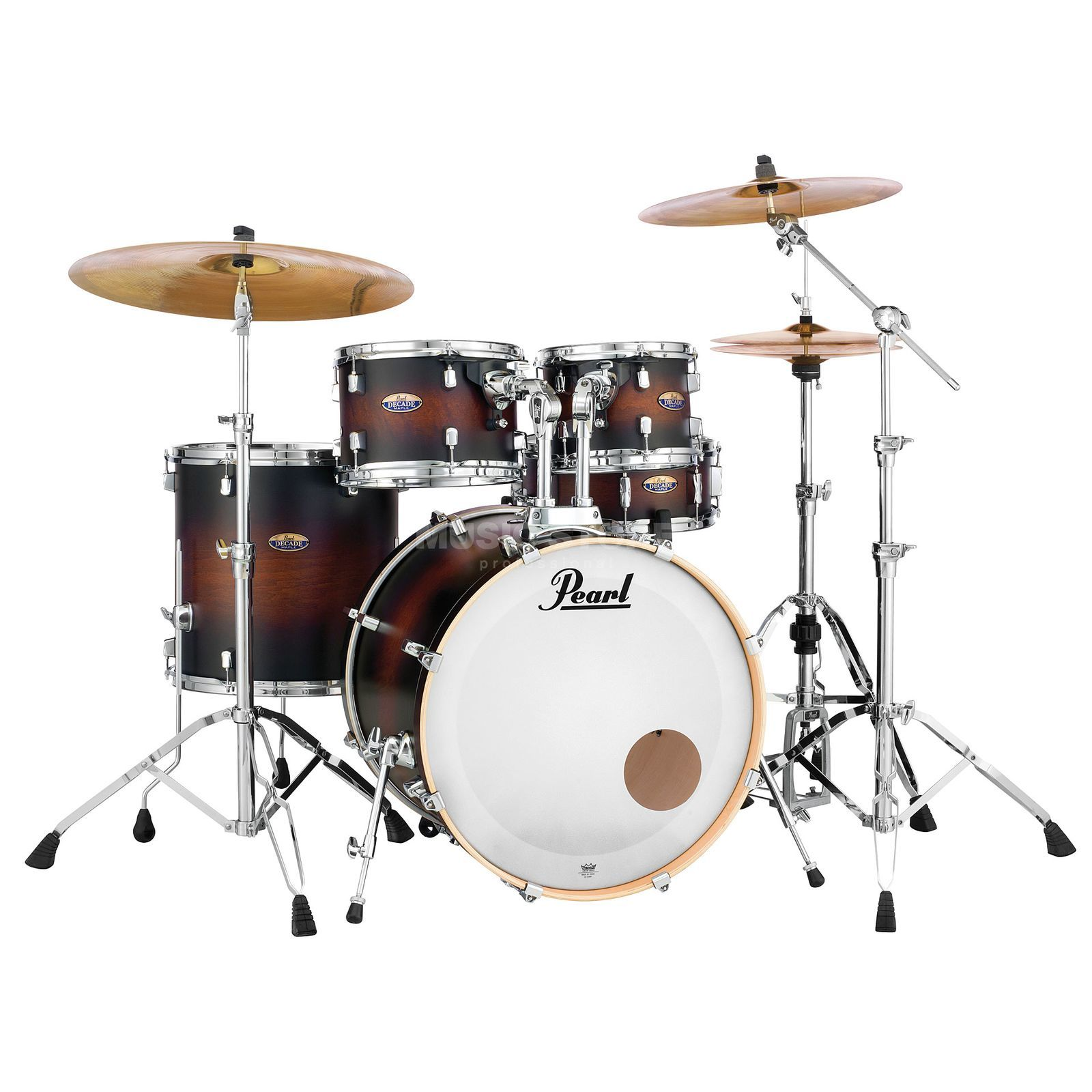Pearl Decade Maple DMP925F/C, Satin Brown Burst #260 Productafbeelding