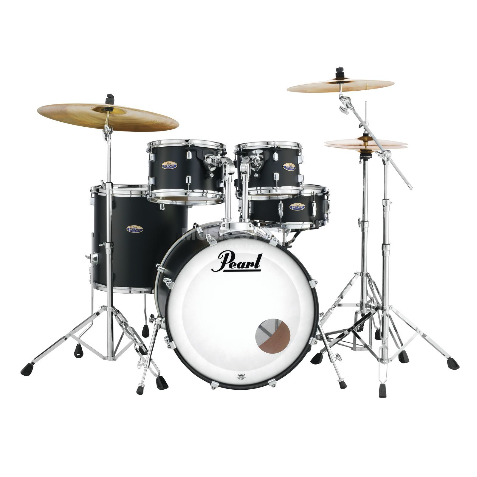 Pearl Decade Maple DMP925S/C, Satin Slate Black #227 Produktbillede