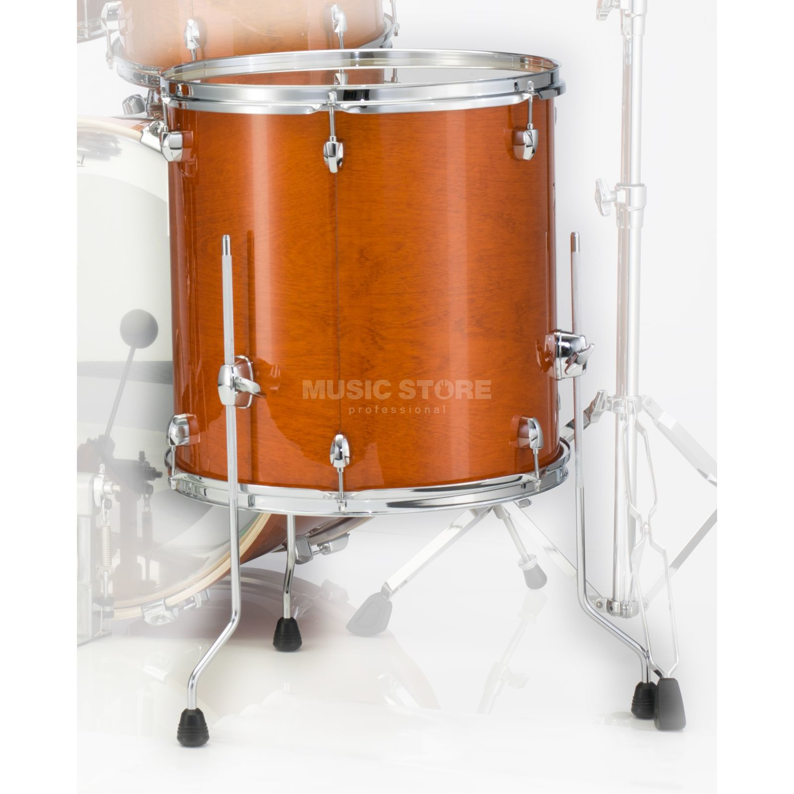 "Pearl Export EXL FloorTom 14""x14"", Honey Amber #249 Produktbillede"