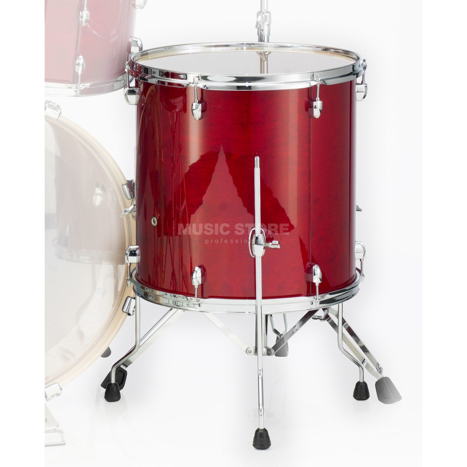 "Pearl Export EXL FloorTom 14""x14"", Natural Cherry #246 Product Image"