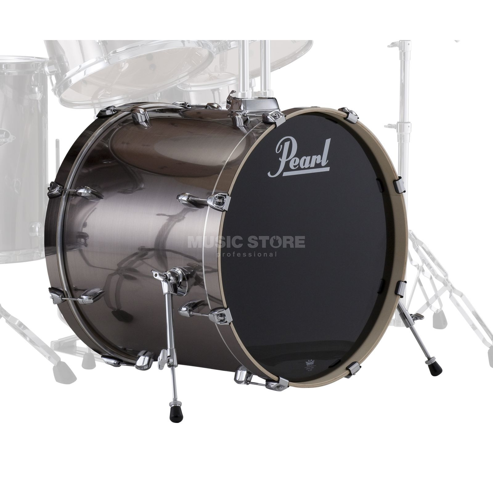 "Pearl Export EXX BassDrum 20""x18"", Smokey Chrome #21 Product Image"