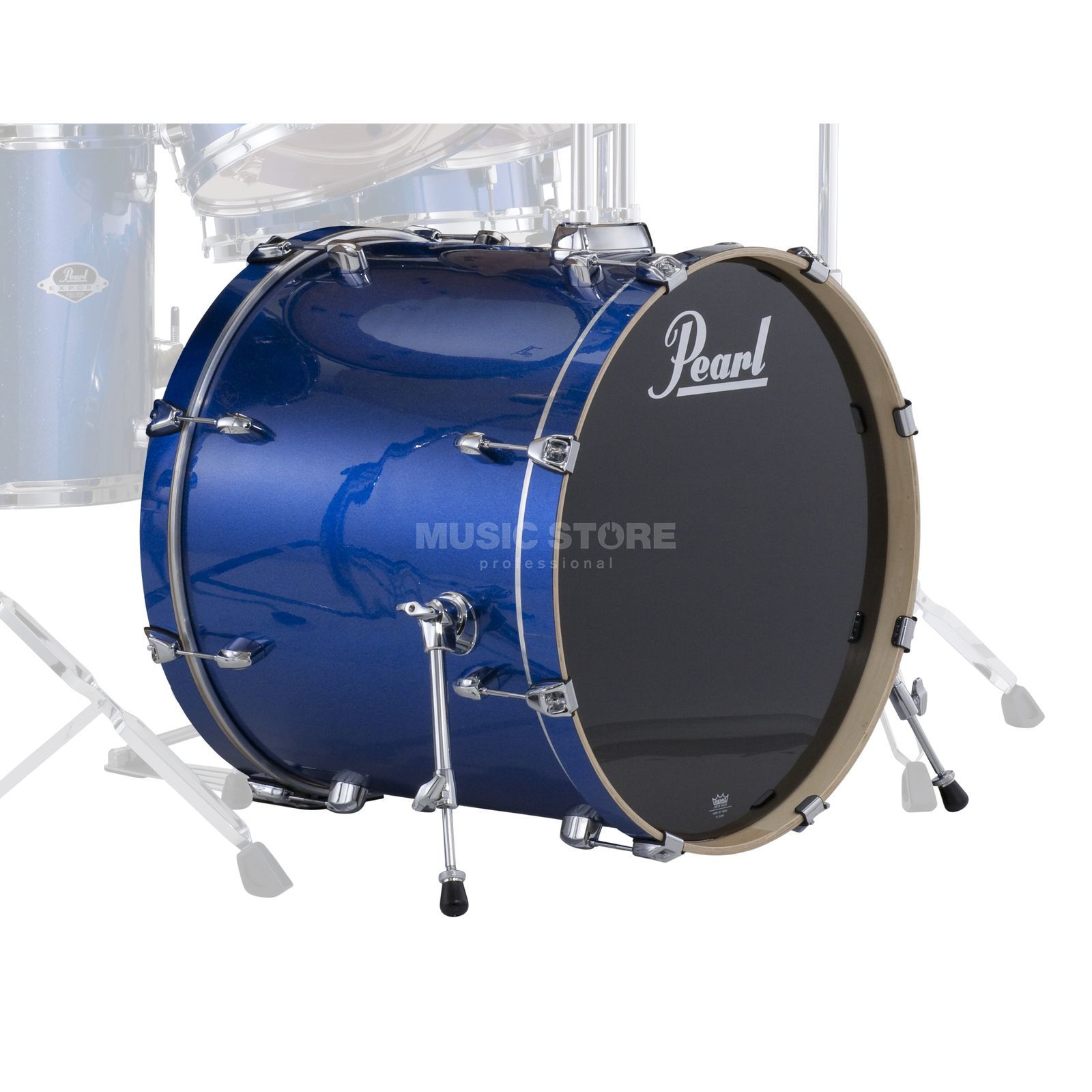 "Pearl Export EXX BassDrum 22""x18"", Electric Blue Sparkle #702 Product Image"
