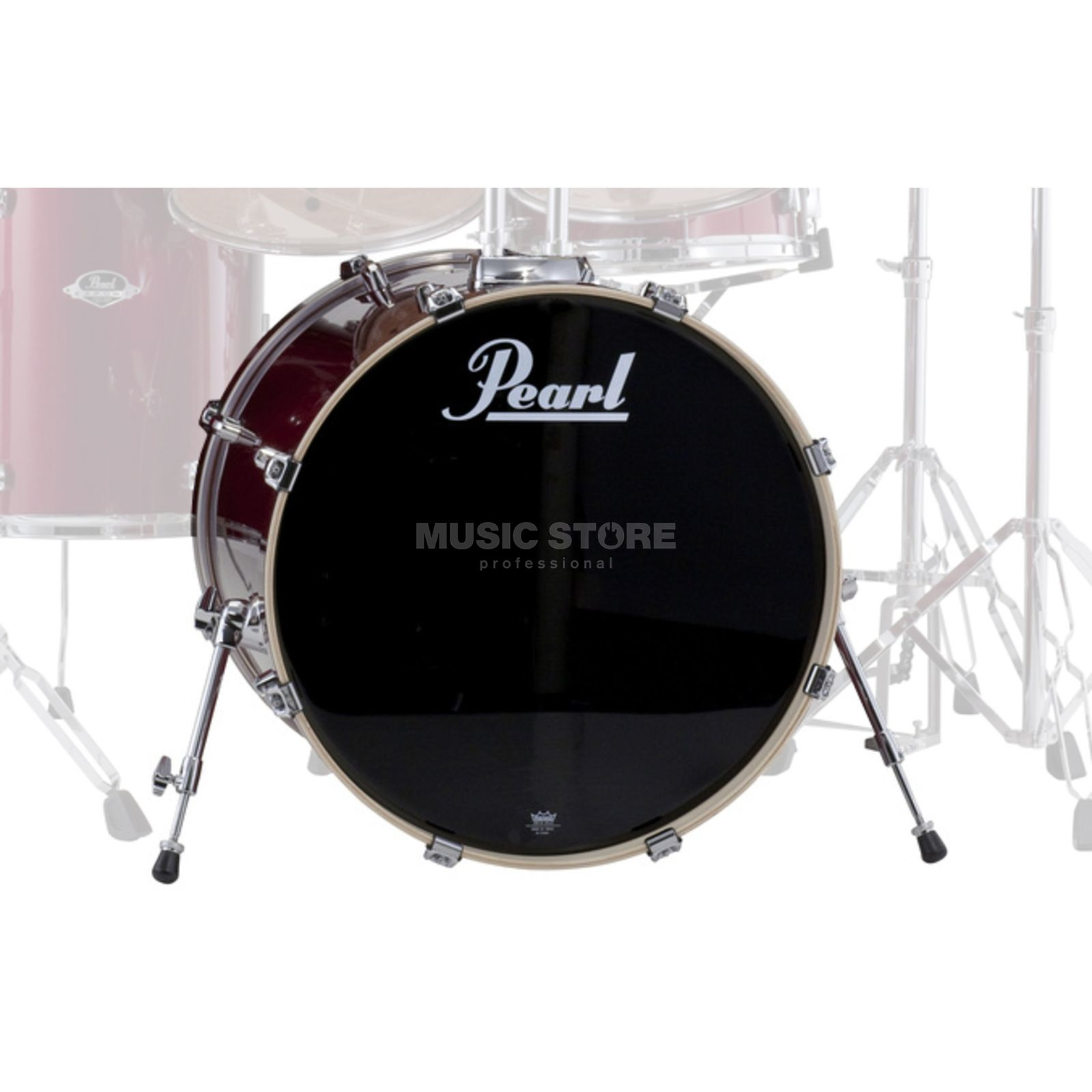 "Pearl Export EXX BassDrum 22""x18"", Red Wine #91 Product Image"