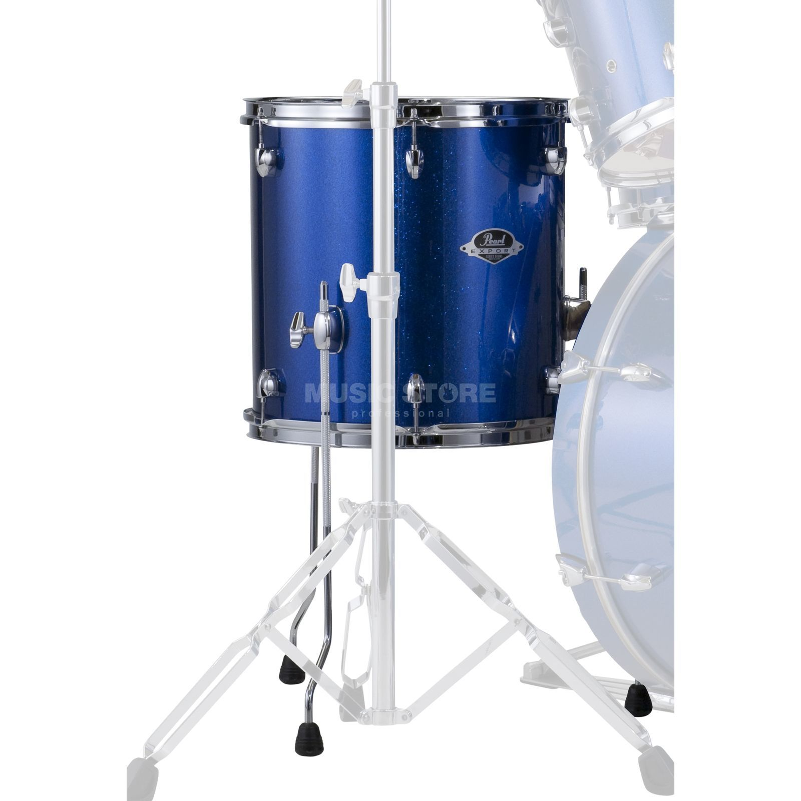 "Pearl Export EXX FloorTom 14""x14"", Electric Blue Sparkle #702 Produktbild"