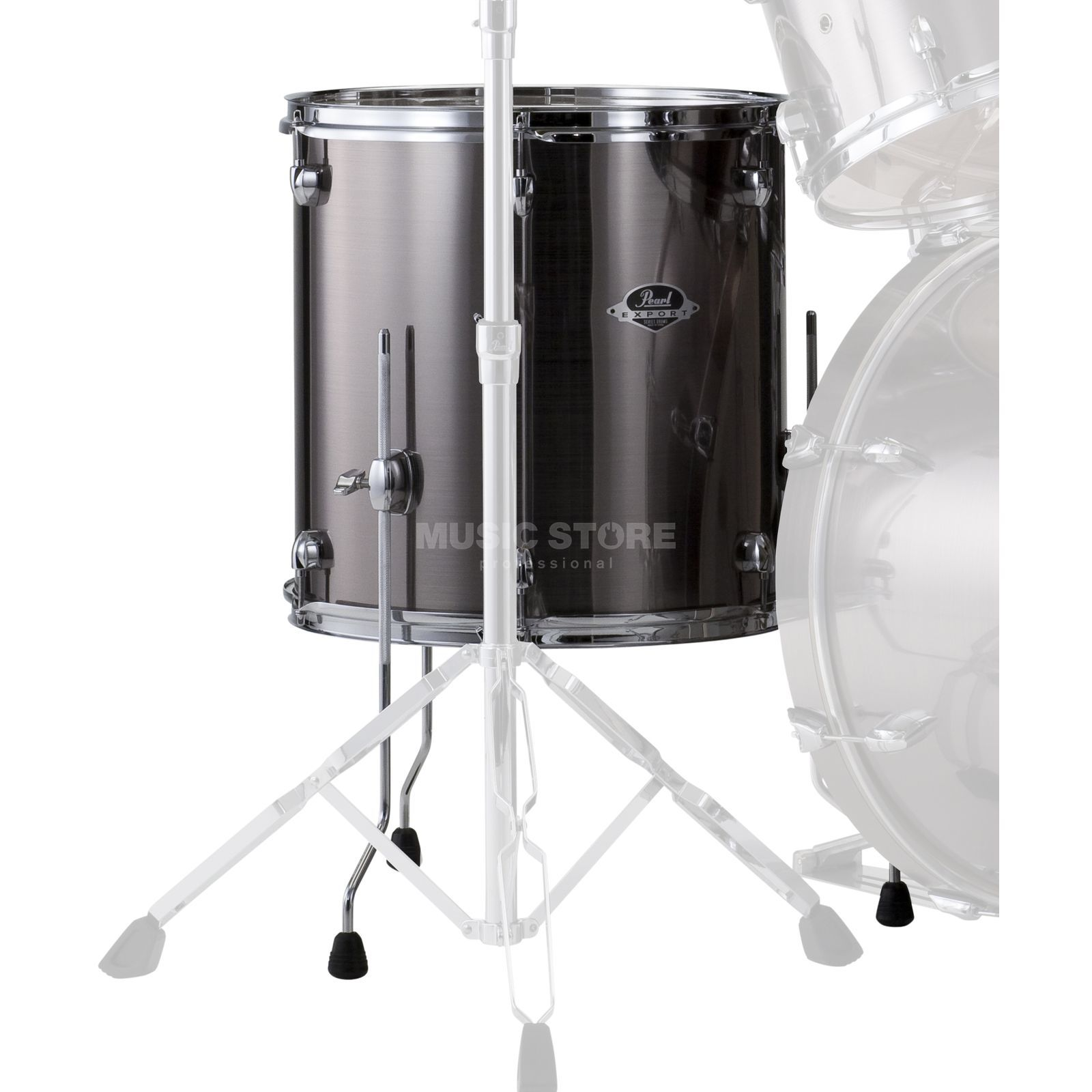"Pearl Export EXX FloorTom 14""x14"", Smokey Chrome #21 Produktbild"