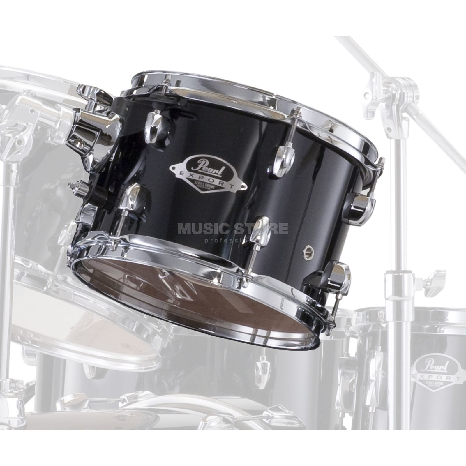 "Pearl Export EXX Tom 12""x8"", Jet Black #31 Product Image"