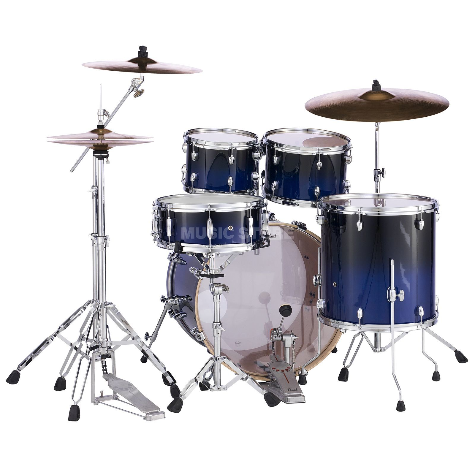 Pearl Export Lacquer EXL725F/C, Sea Blue Fade #257 Product Image