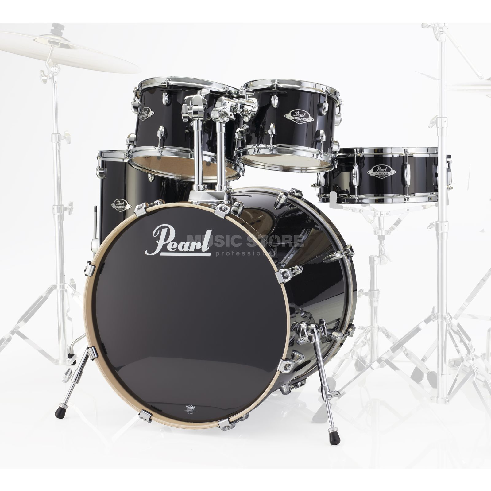 Pearl Export ShellSet EXL725SP/C, Black Smoke #248 Produktbillede