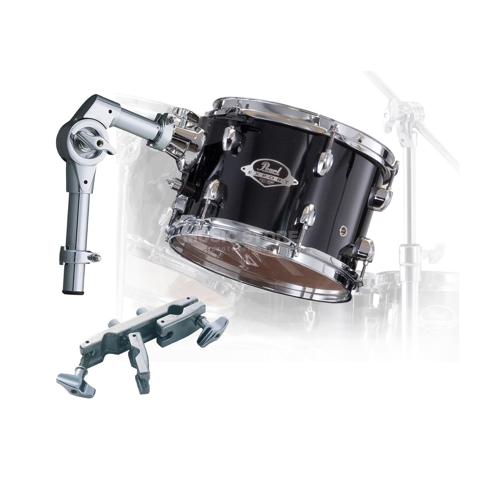 "Pearl Export Tom Add-On Pack 8""x7"", Jet negro #31 Imagen del producto"