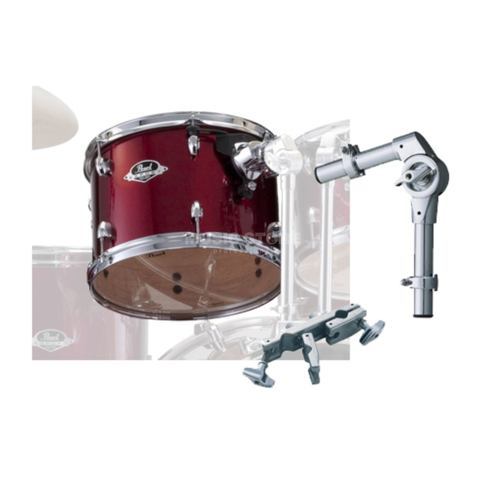"Pearl Export Tom Add-On Pack 8""x7"", Red Wine #91 Produktbild"