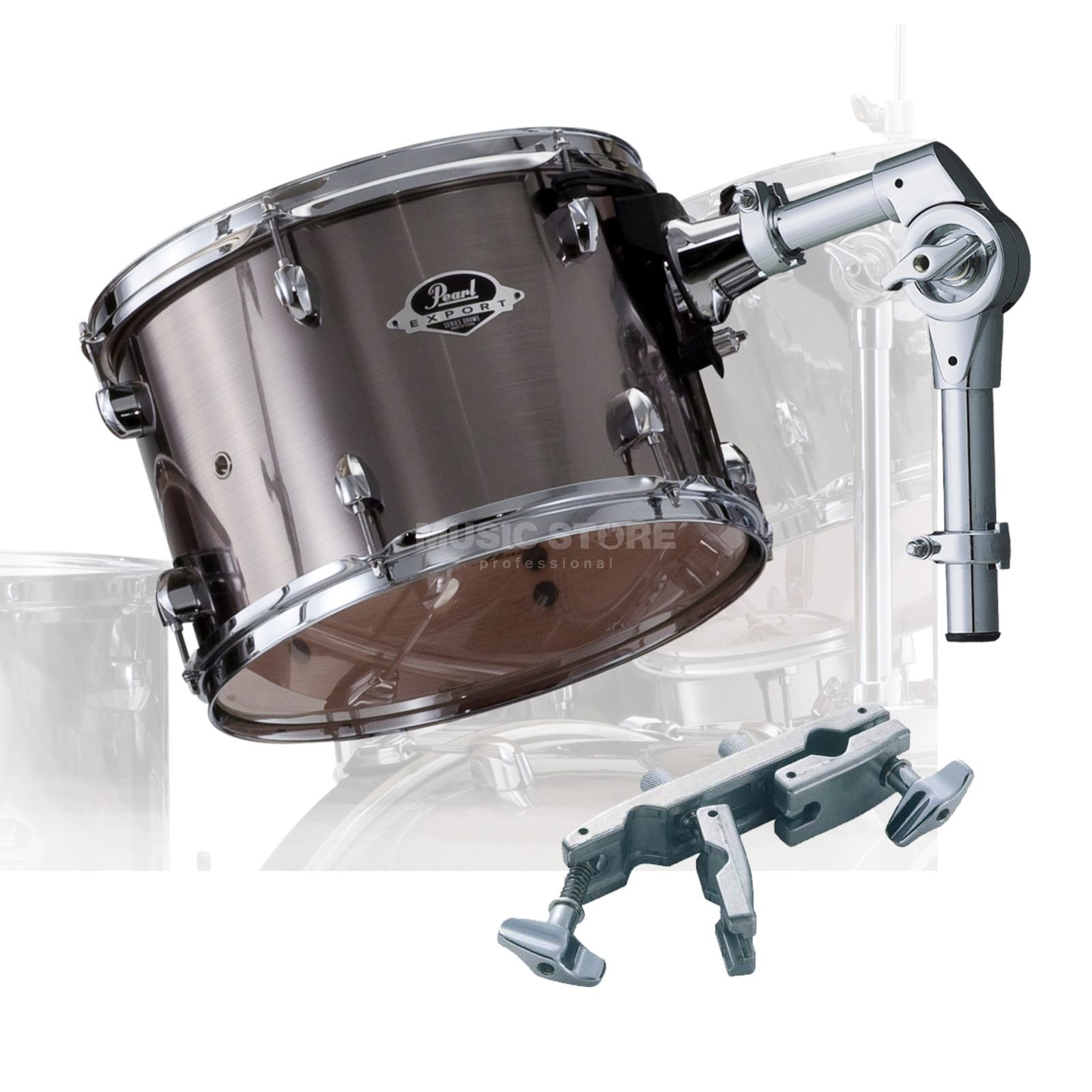 "Pearl Export Tom Add-On Pack 8""x7"", Smokey Chrome #21 Produktbild"