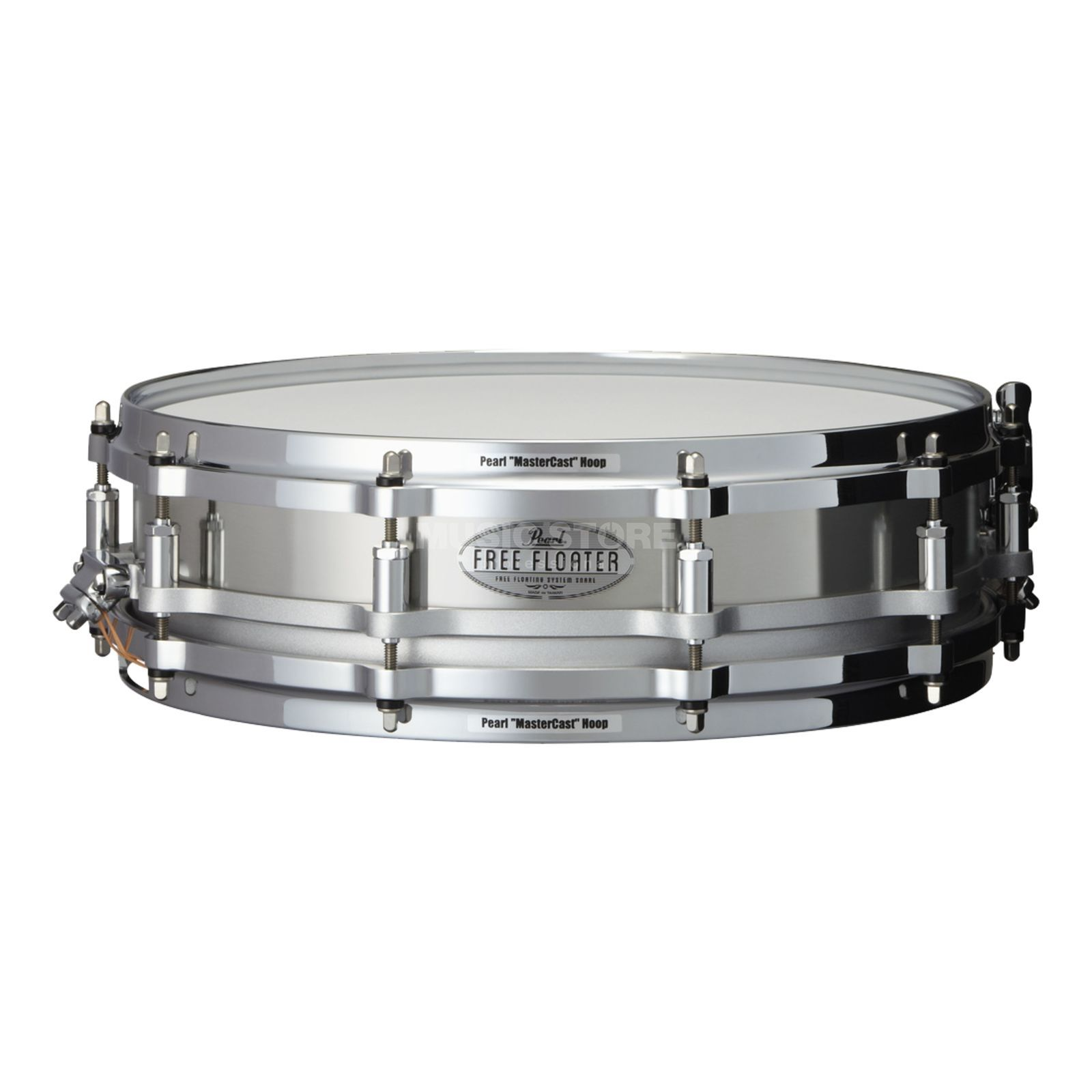 "Pearl Free Floating Snare 14""x3.5"", FTSS-1435, Stainless Steel, B-Stock Produktbillede"