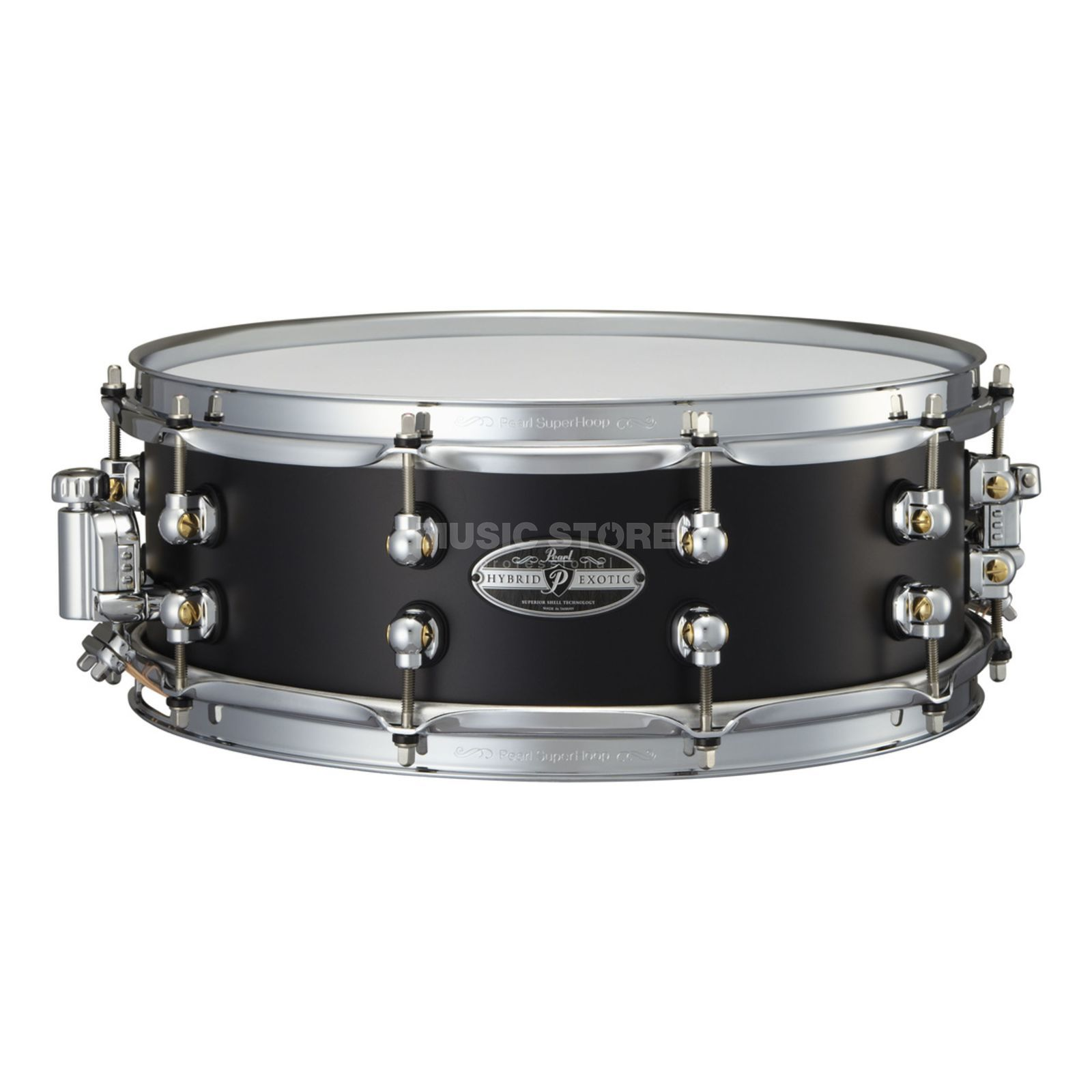"Pearl Hybrid Exotic Snare 14""x5"", HEAL-1450, Cast Aluminum Produktbillede"