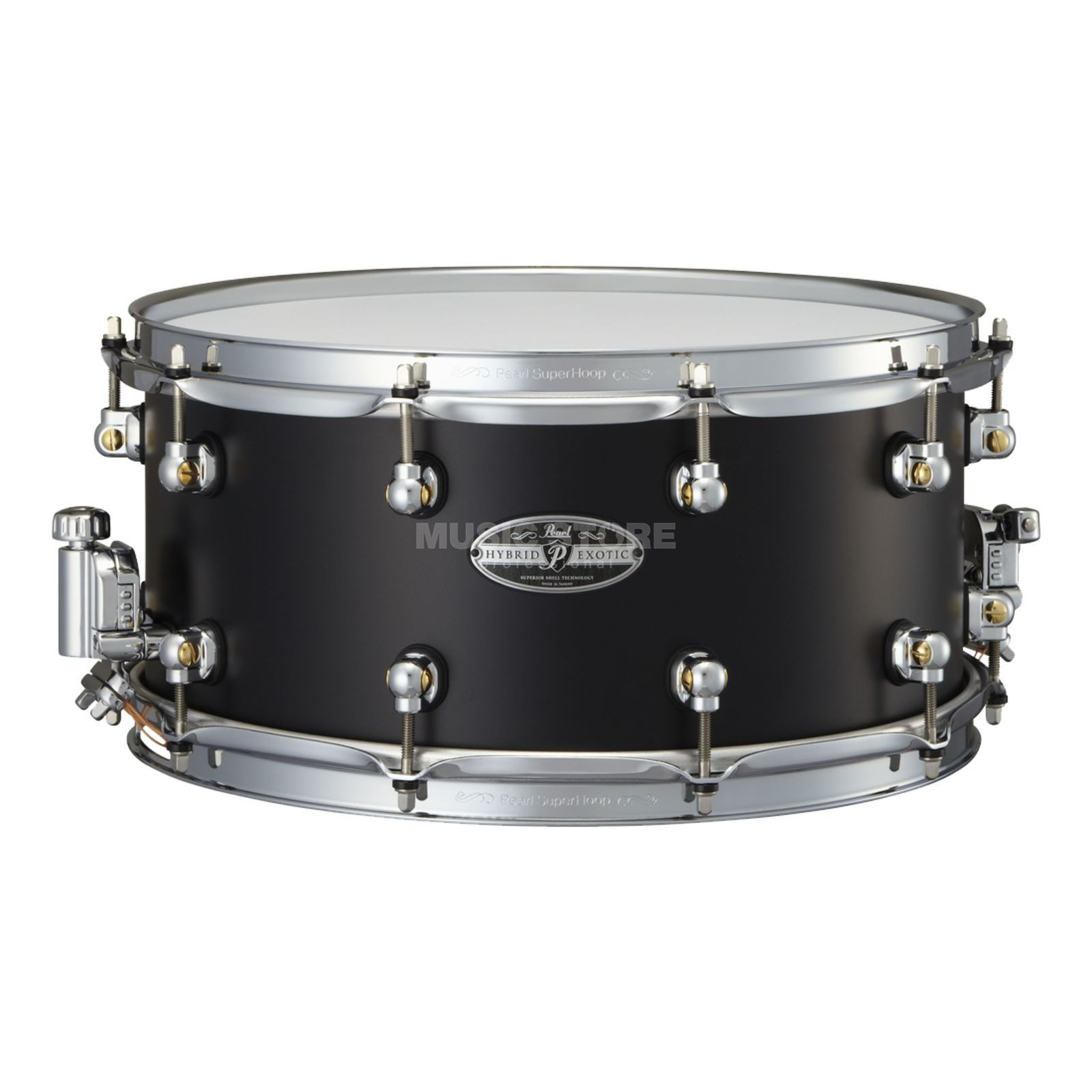 "Pearl Hybrid Exotic Snare 14""x6.5"", HEAL-1465, Cast Aluminum Produktbillede"