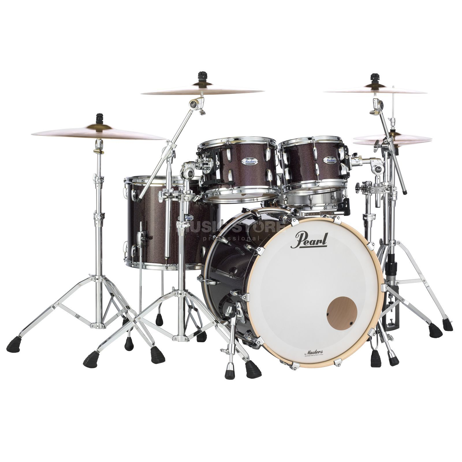 Pearl Masters Maple Complete MCT904XEP/C, Burnished Bronze Productafbeelding