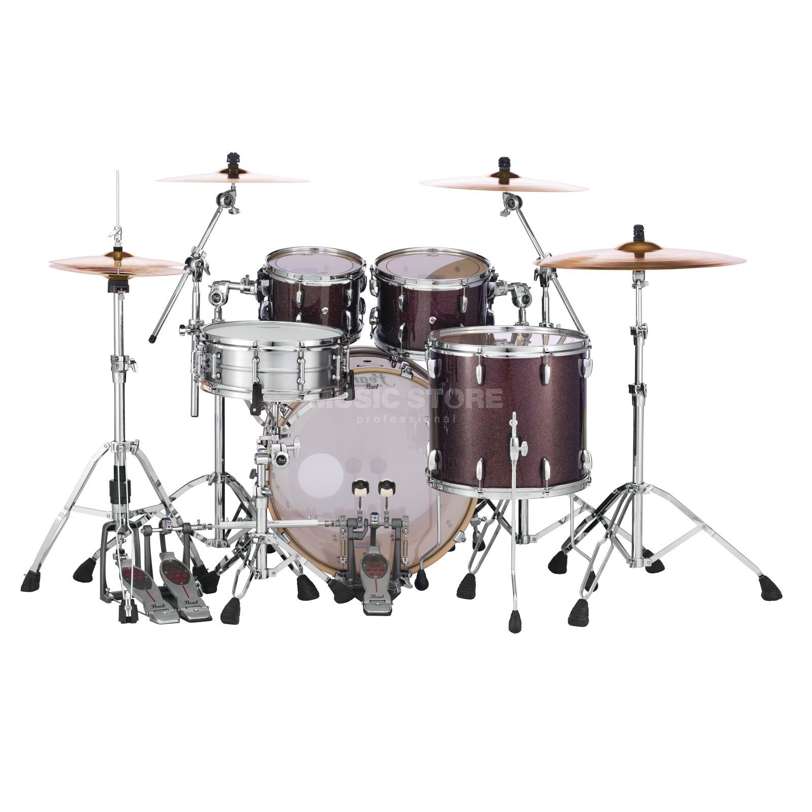 Pearl Masters Maple Complete MCT924XEP/C, Burnished Bronze Product Image