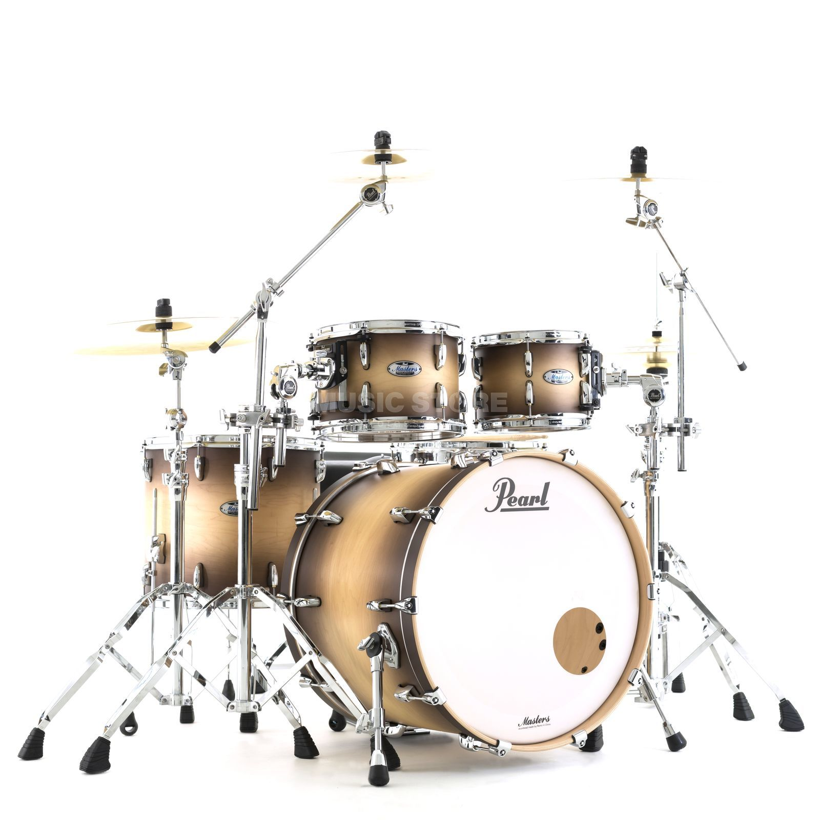 Pearl Masters Maple Complete MCT924XEP/C Satin Natural Burst Product Image