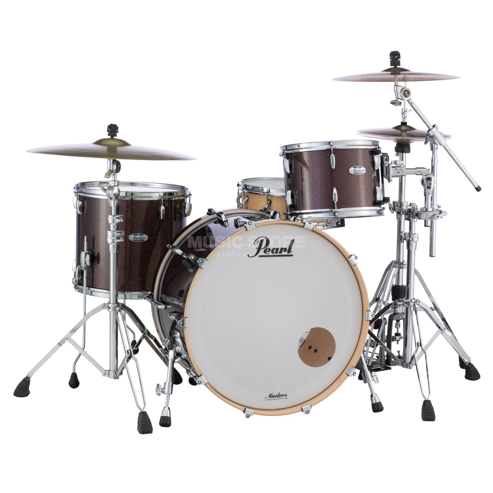 Pearl Masters Maple Complete MCT943XEP/C, Burnished Bronze Image du produit