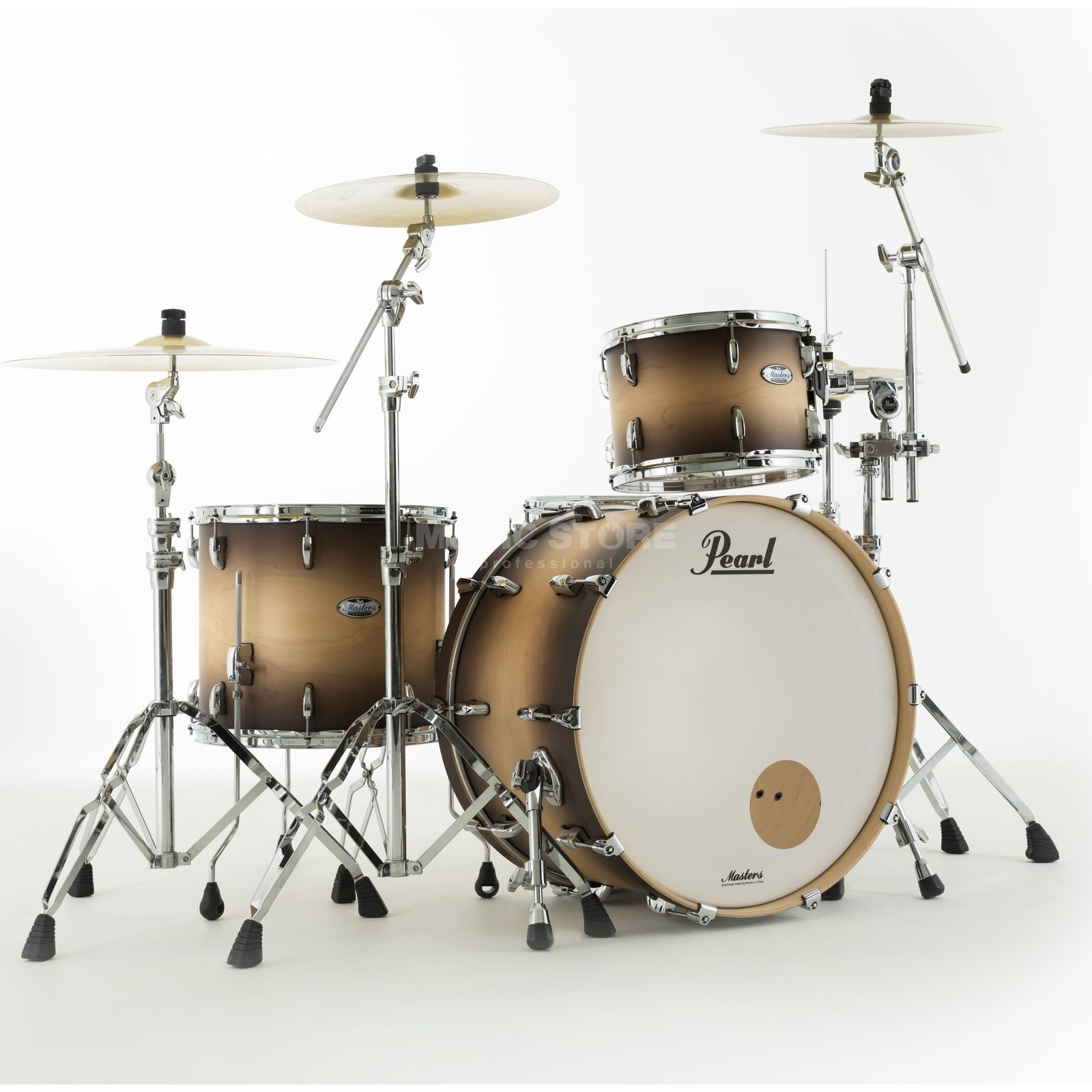 Pearl Masters Maple Complete MCT943XEP/C Satin Natural Burst Productafbeelding