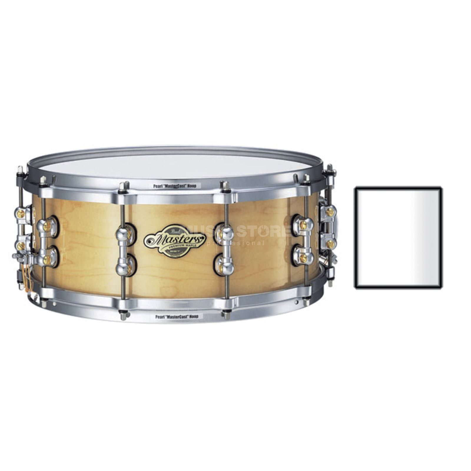 "Pearl MMP1455S/C MMP Snare 14""x5,5"" Arctic White #109 Produktbild"