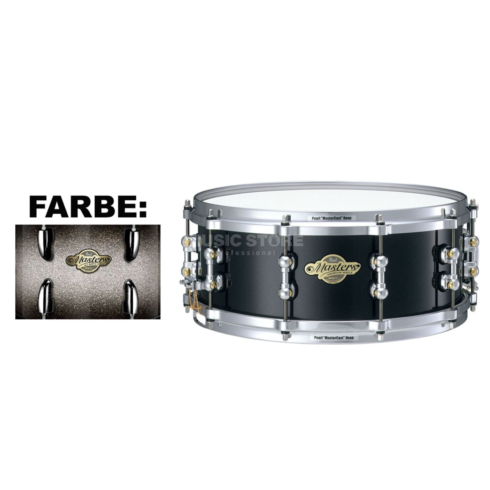 "Pearl MMP1455S/C MMP Snare 14""x5,5"" Diamond Burst #166 Product Image"