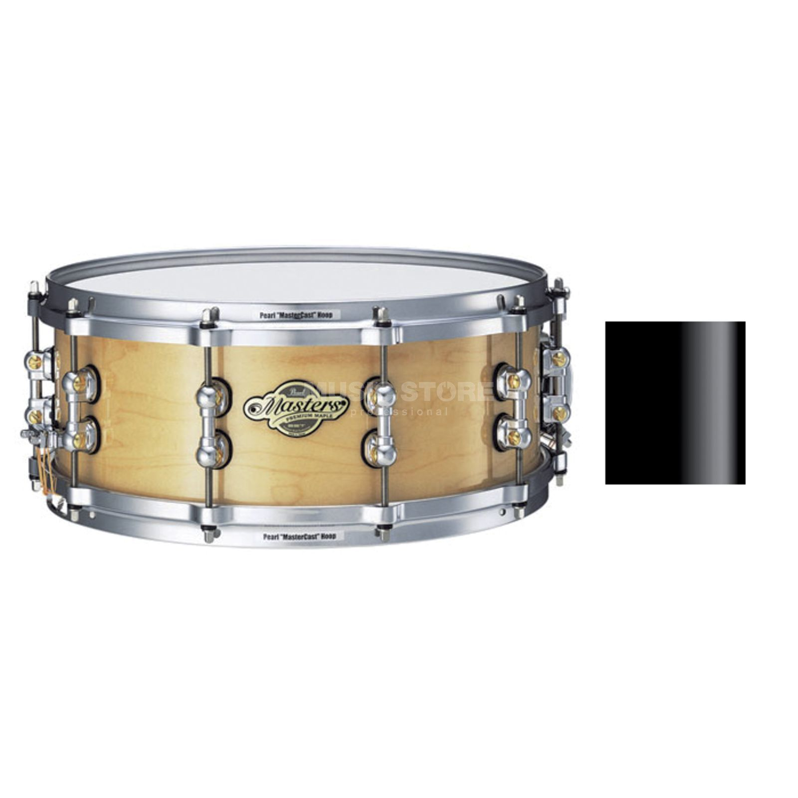 "Pearl MMP1455S/C MMP Snare 14""x5.5"" Piano Black #104 Product Image"