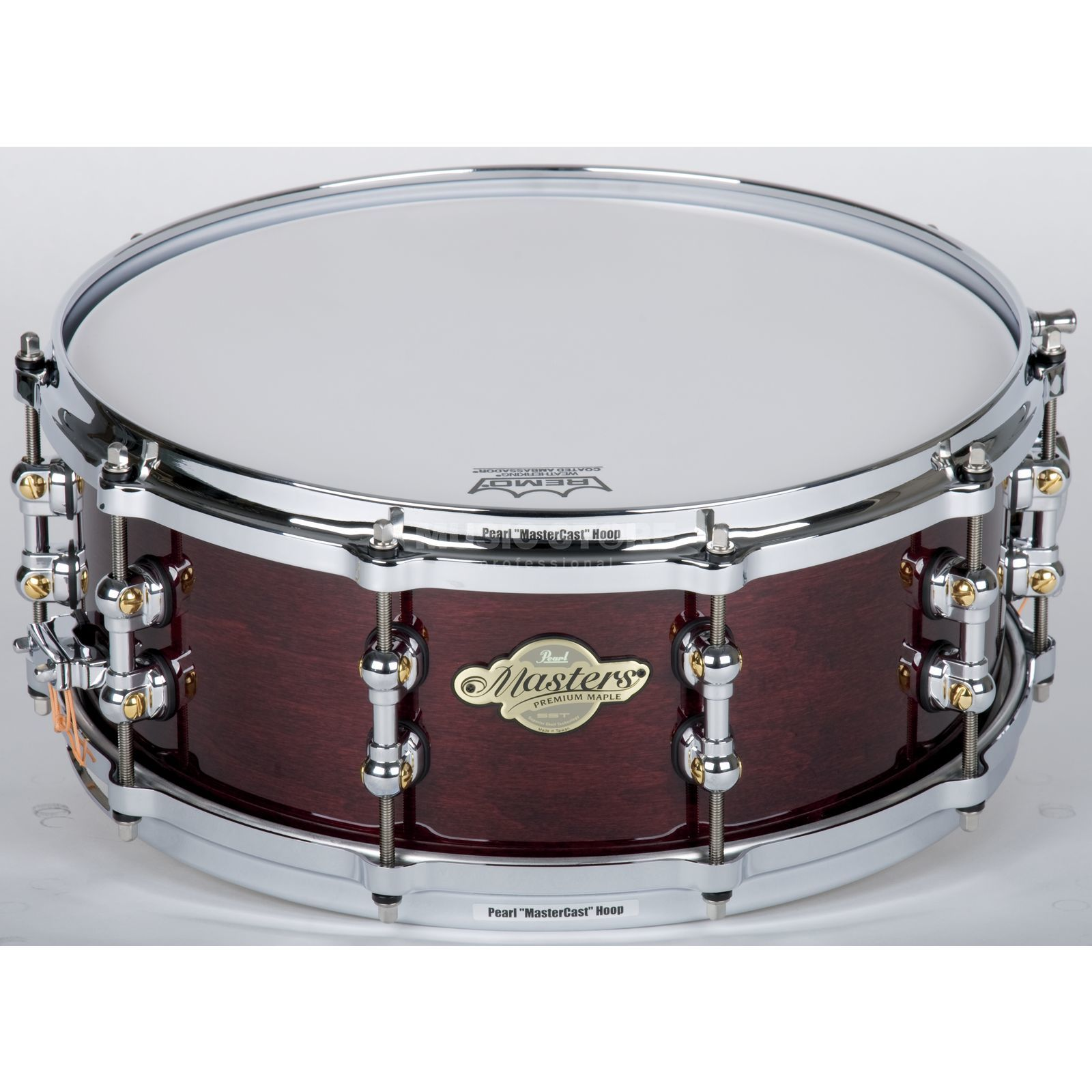 "Pearl MMP1455S/C MMP Snare 14""x5.5"" Wine Red #101 Product Image"