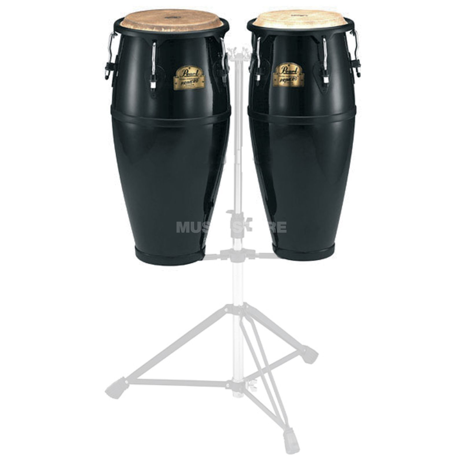 "Pearl Primero CongaSet PFC-202, 10"" & 11"", Bistre Black #603 Product Image"
