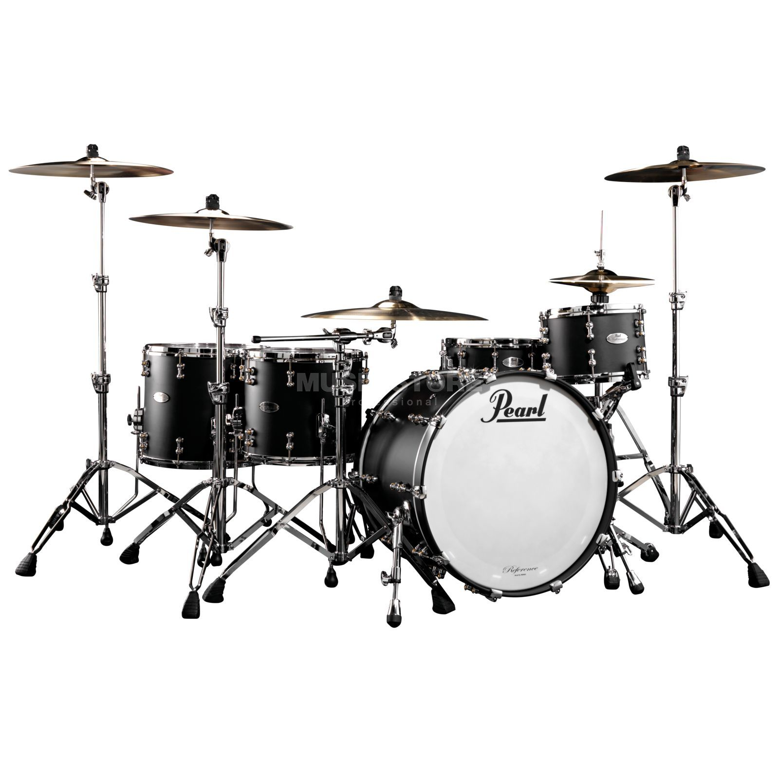 Pearl Reference Pure RFP-924XEP/C, Matte Black #125 Produktbillede