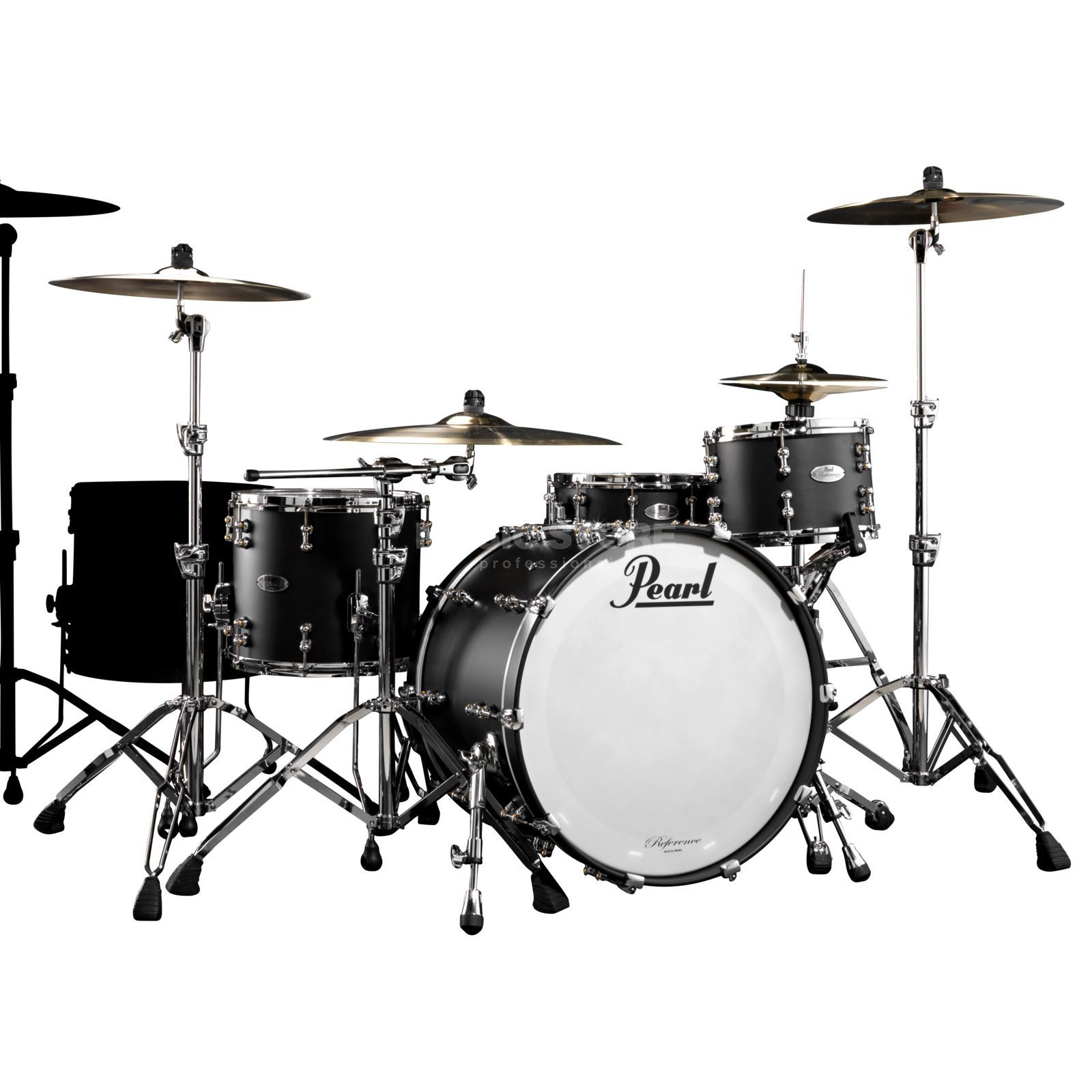 Pearl Reference Pure RFP-924XSP/C, Matte Black #124 Produktbild