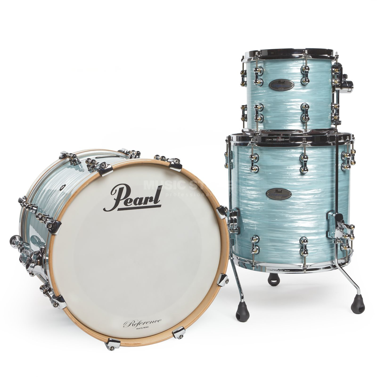 Pearl Reference Pure Shell-Set Jazz Ice Blue Oyster Produktbillede