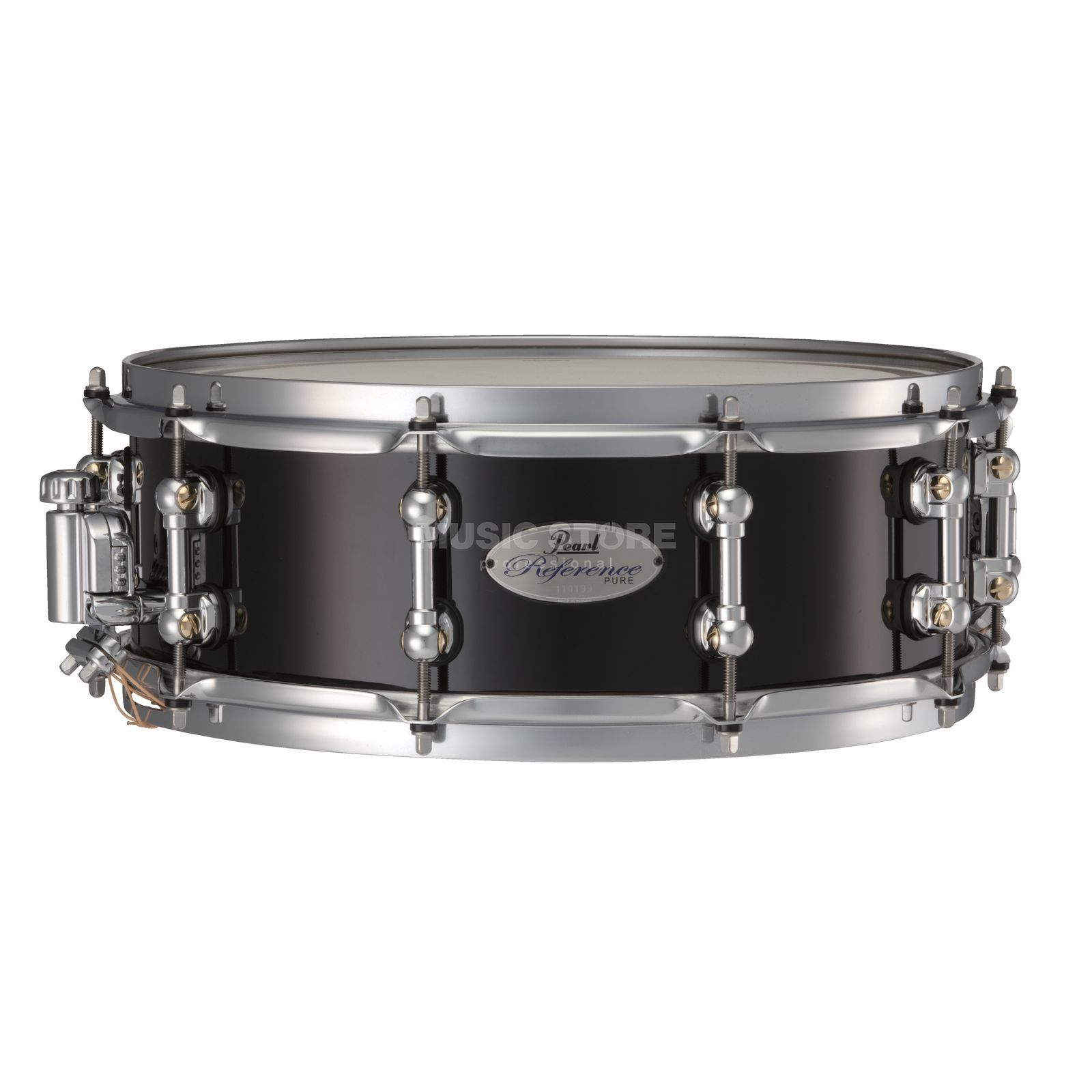 "Pearl Reference Pure Snare 14""x5"", Piano Black #103 Produktbild"