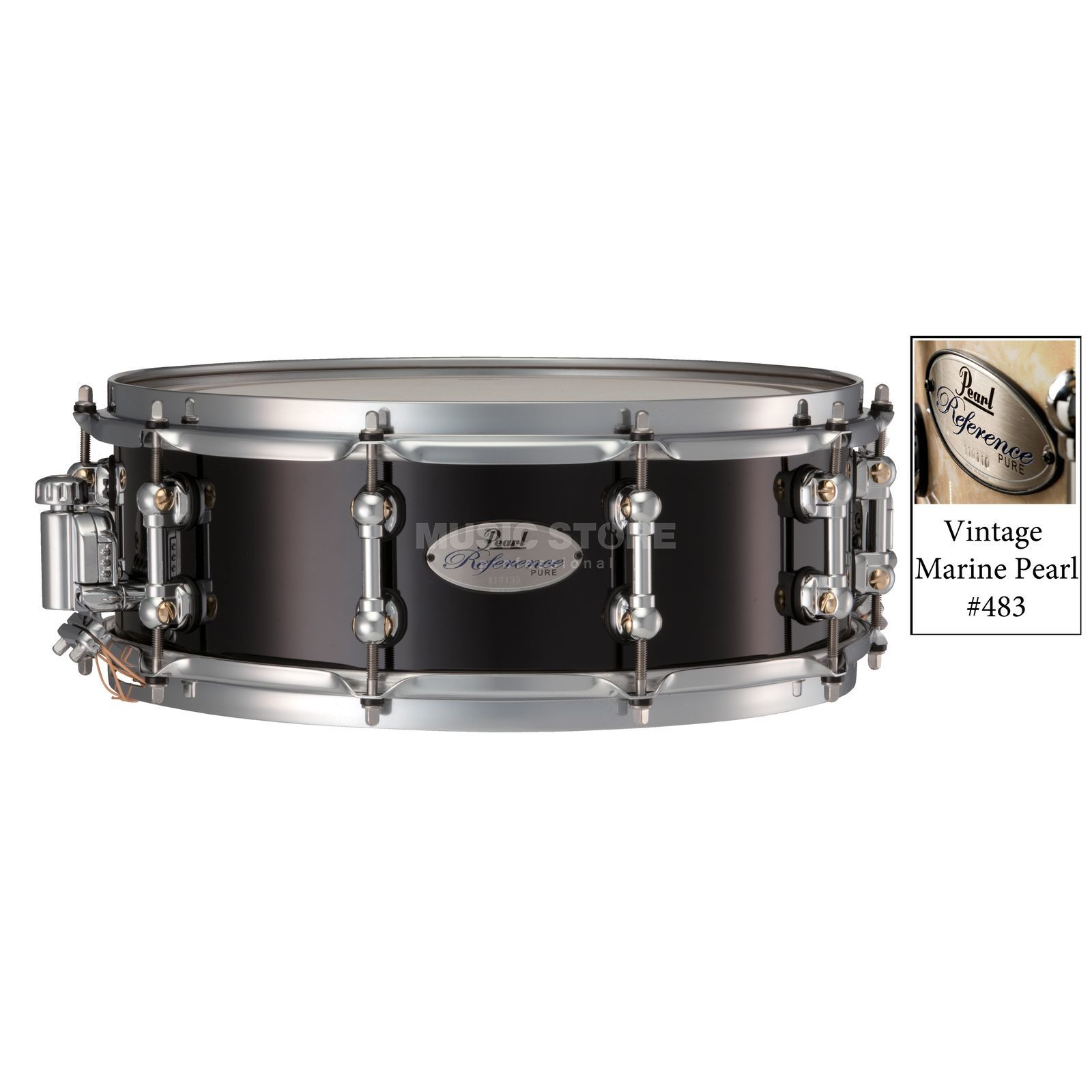 "Pearl Reference Pure Snare, 14""x5"", Vintage Marine Pearl #483 Produktbild"