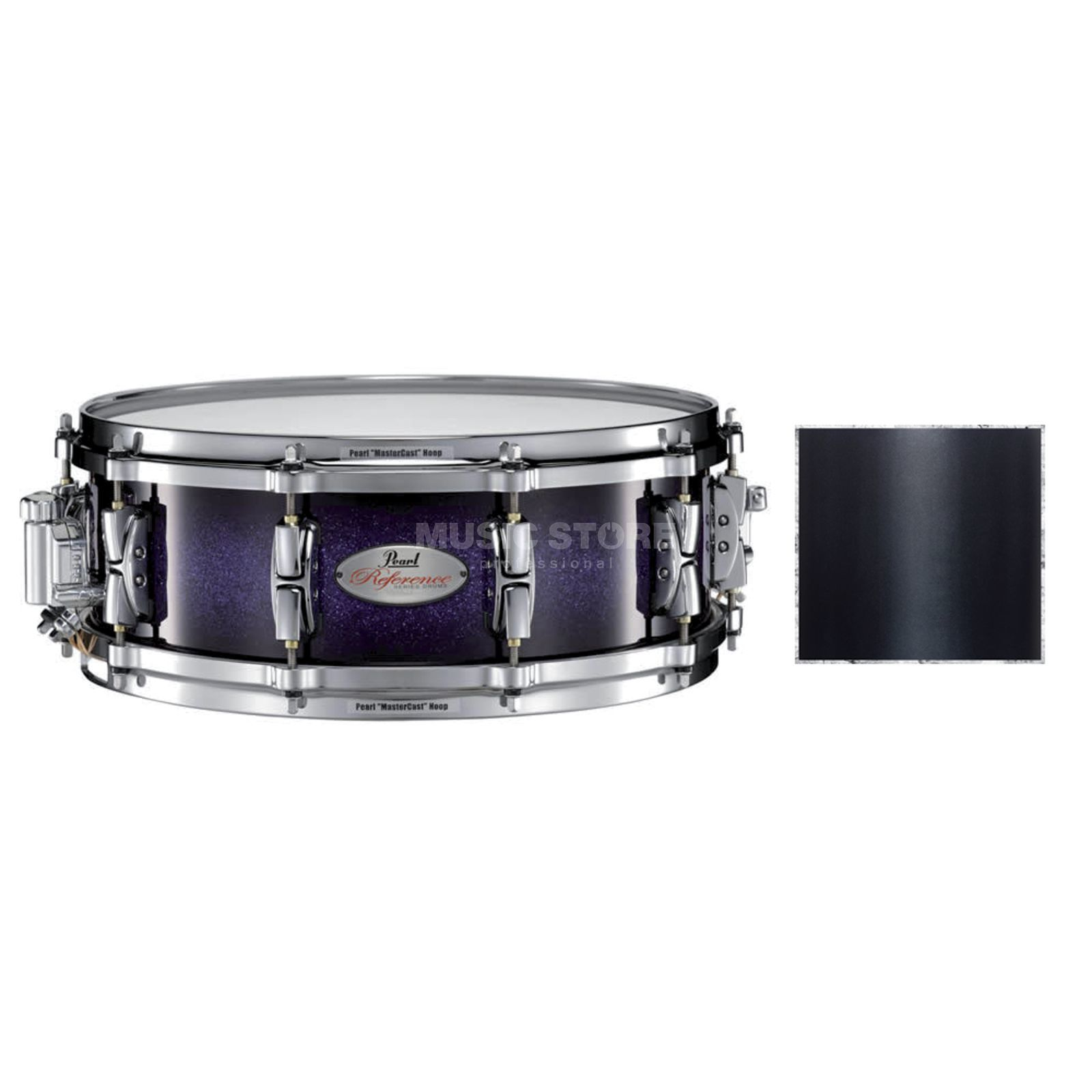 "Pearl RF1450S/C Reference Snare 14""x5"", Black Pearl #332 Produktbillede"