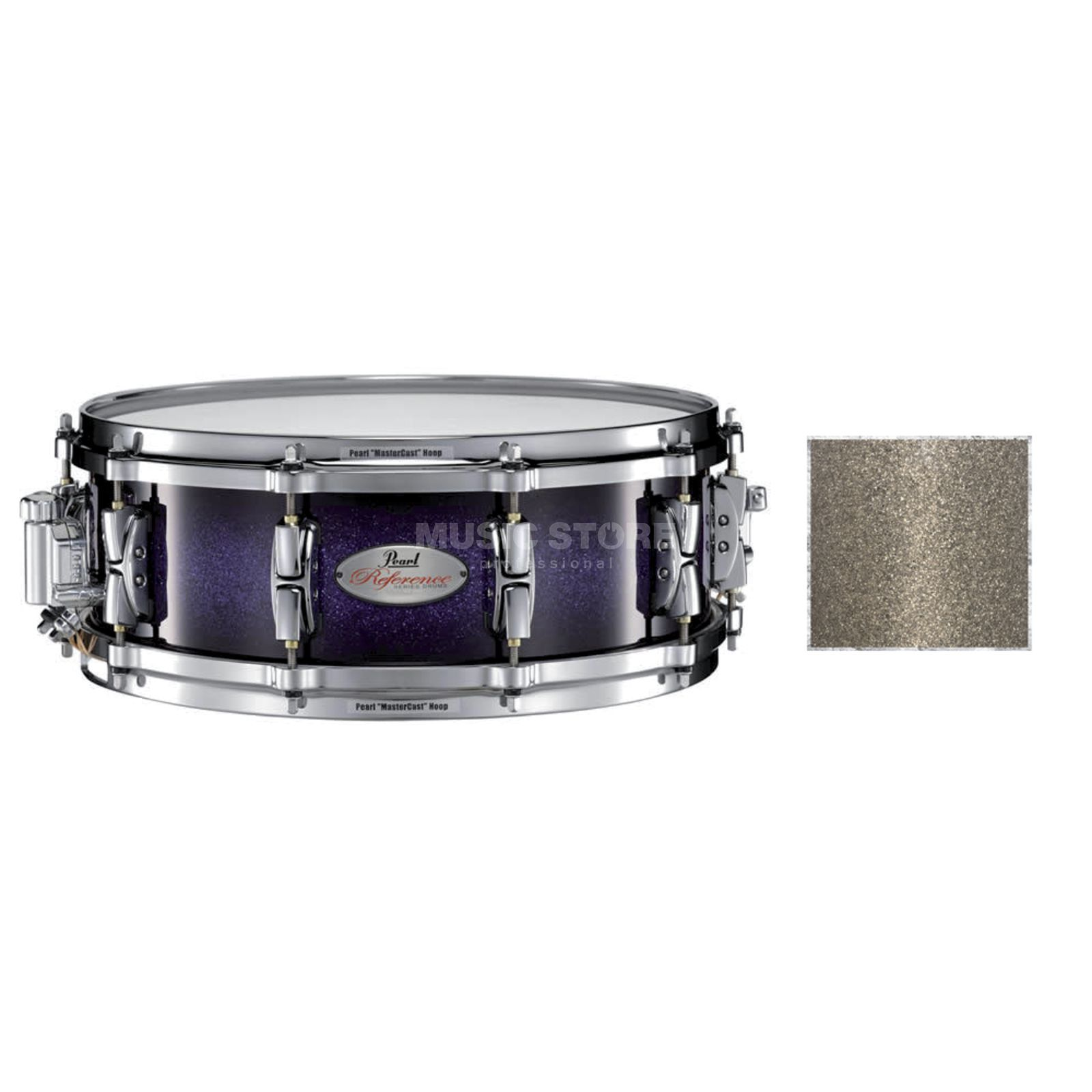 "Pearl RF1450S/C Reference Snare 14""x5"", Pewter Glass #409 Produktbillede"