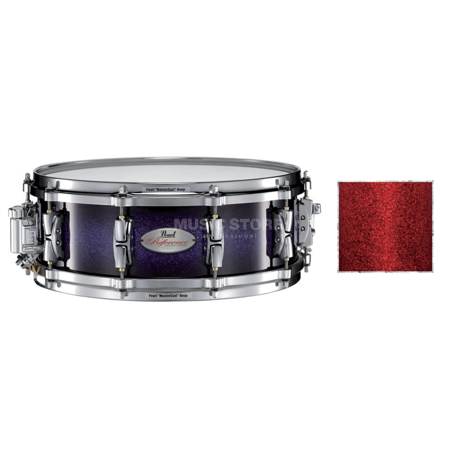 "Pearl RF1450S/C Reference Snare 14""x5"", Red Glass #408 Produktbillede"
