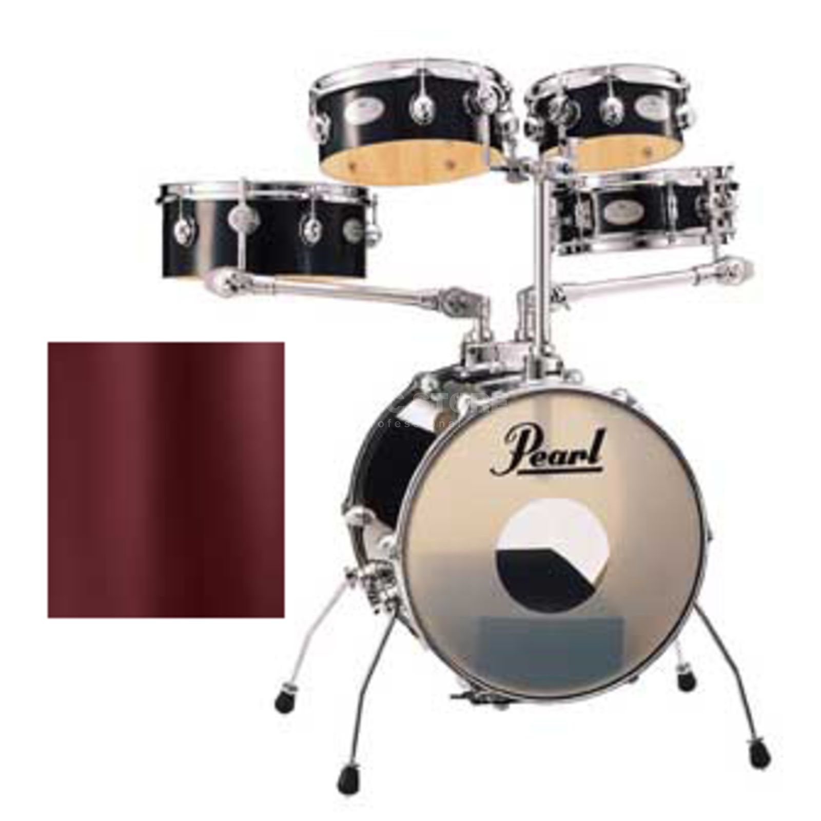 Pearl Rhythm Traveler Gig RTGX665 Red Wine #91 Изображение товара
