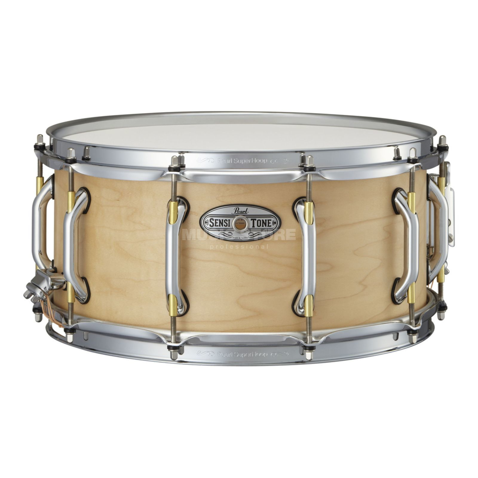 "Pearl Sensitone Premium Snare, 14""x6.5"", STA1465MM, Maple Produktbillede"