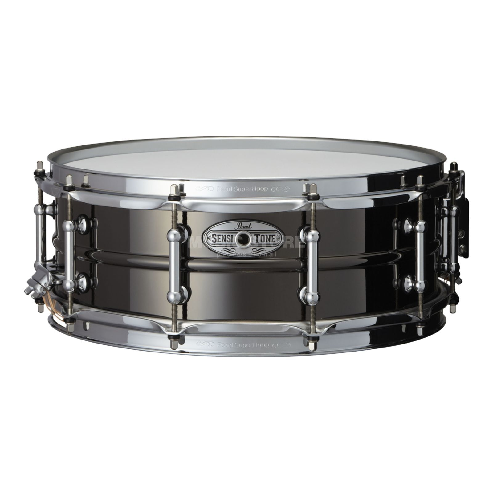 "Pearl Sensitone Snare STA-1450BR, 14""x5"", Black Nickel / Brass Produktbild"